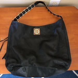 Black hobo bag